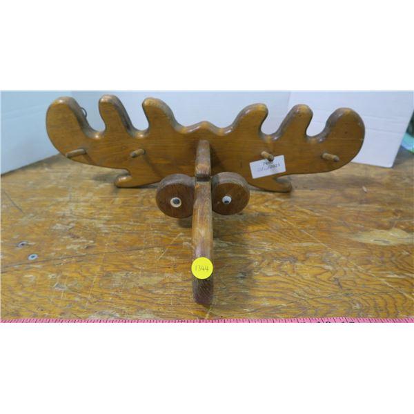 Moose' Wall Hanger (Coat Rack)