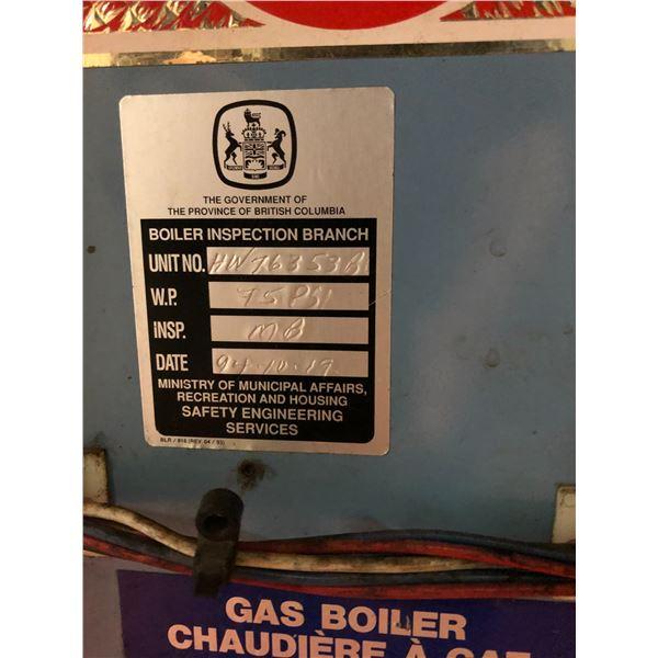 SUPER HOT AAE-1920-9 1,305,600 BTU PER HOUR NATURAL GAS BOILER