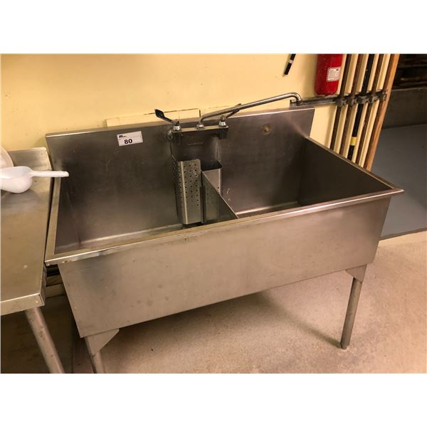 TERMINAL SS DOUBLE SINK