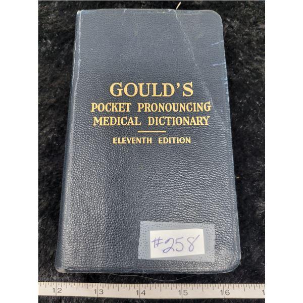 Gould's Pocket Pronouncing Medical Dictionary, 11th ed. 1944