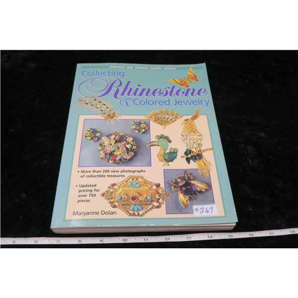 Collecting Rhinestone and Colored Jewellery by Mary Ann Dolan, 4th ed. 1998