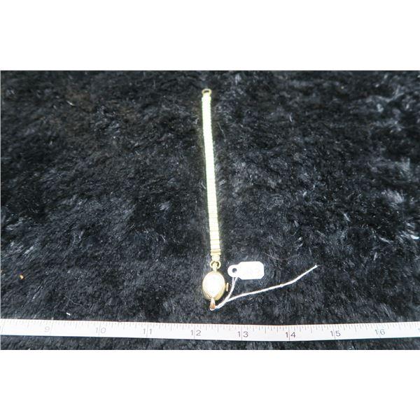 Liberty watch, 14kt case, Swiss, IncaBlock, 17 jewels