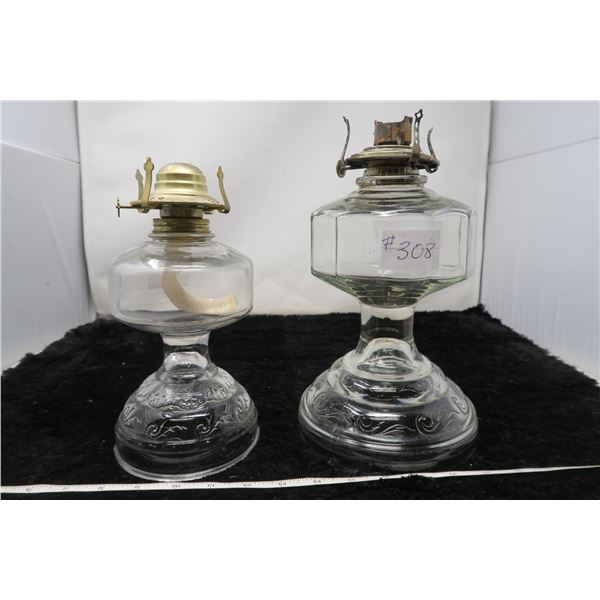 Kerosine oil lamps (2)