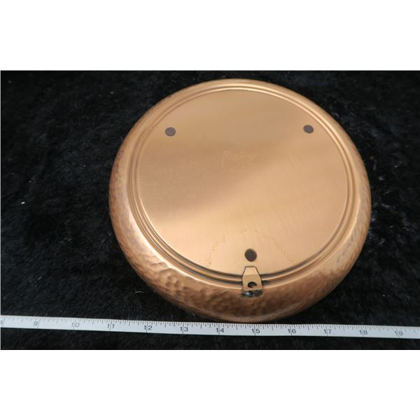 """RCMP copper tray, 9"""""""