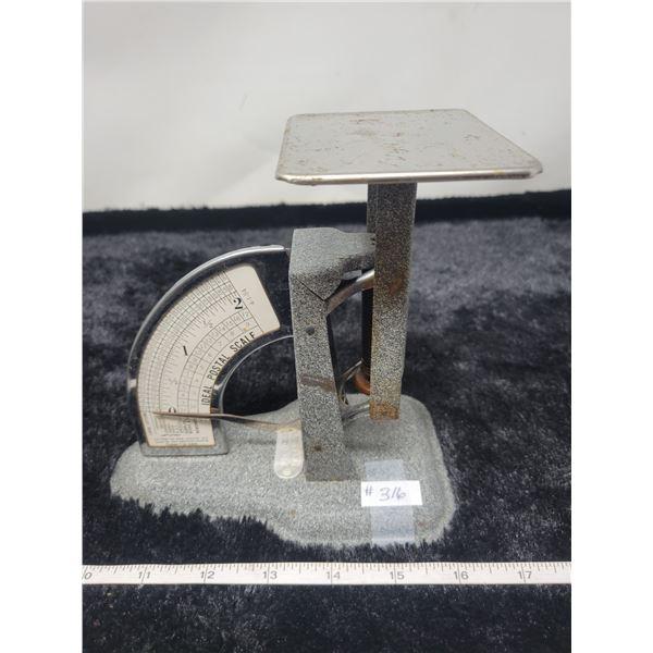 Ideal metal postal scale