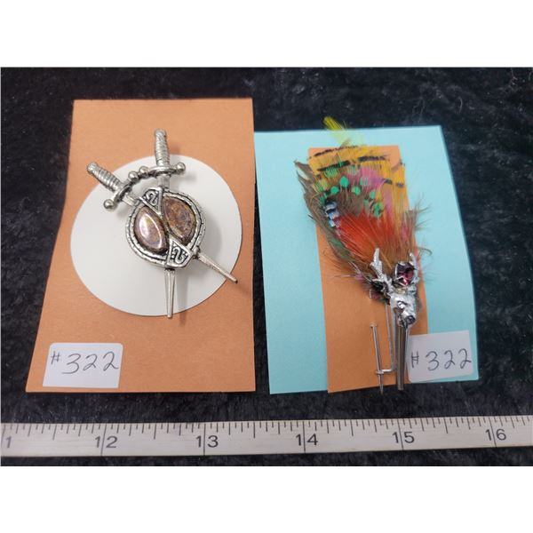 Broaches from Scotland (2)