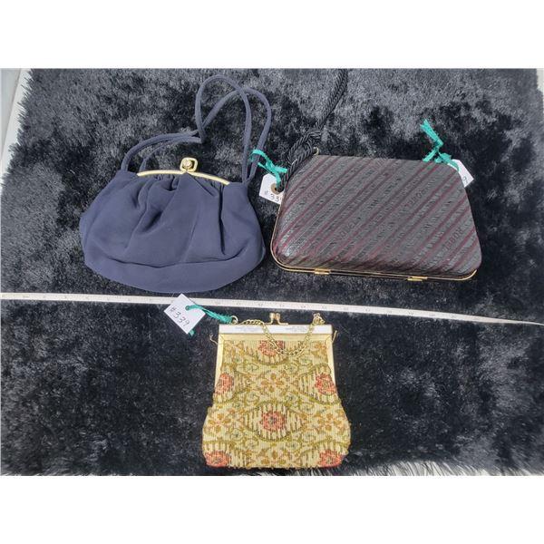 Vintage fabric evening purses (3)