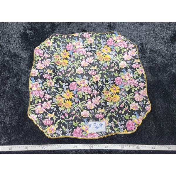 "Chintz lunch plate, 8 ½"", Nantwich pattern, Royal Winton, England"
