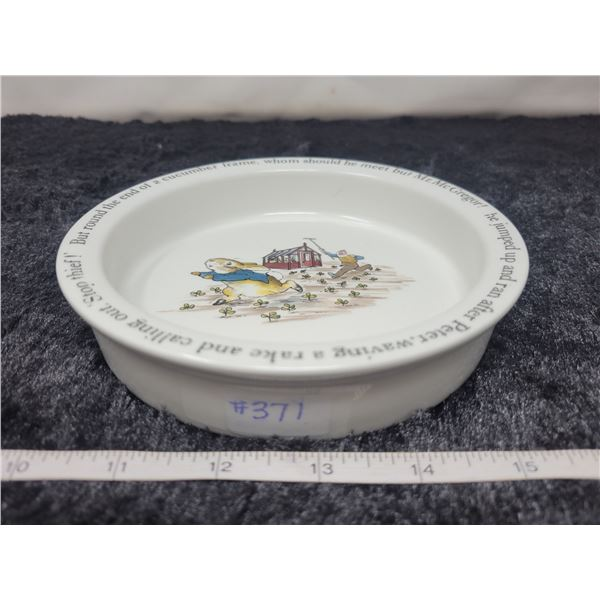 Peter Rabbit cereal bowl, Wedgewood, made in England