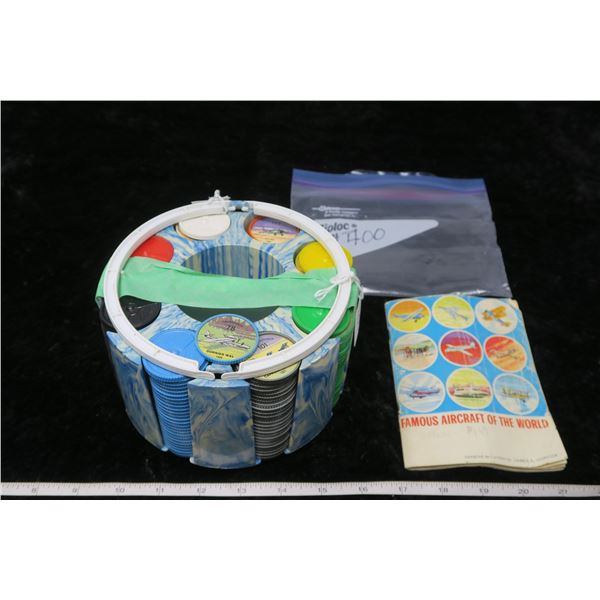 Set of Jello Wheels with carrier and booklet