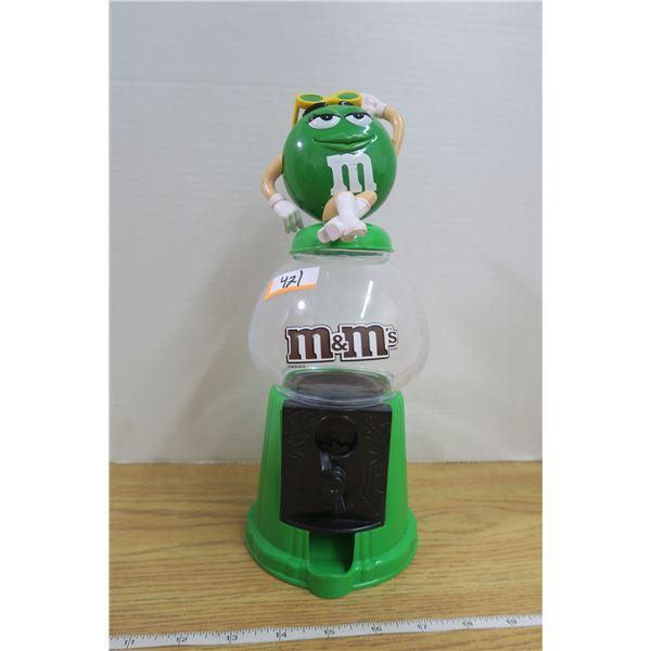 Green M&M Dispenser
