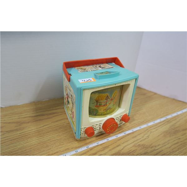64 '65 Fisher Price Musical TV in working condition