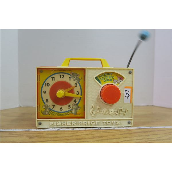 Fisher Price #107 Hickory Dickory Dock in working condition