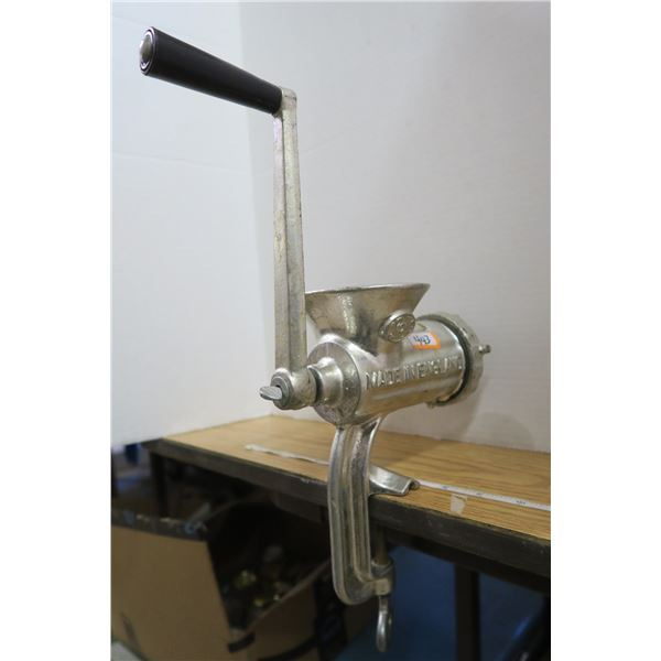 Dominion Meat Grinder Made in England