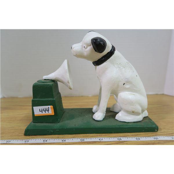 Cast Iron Dog Bank or Doorstop