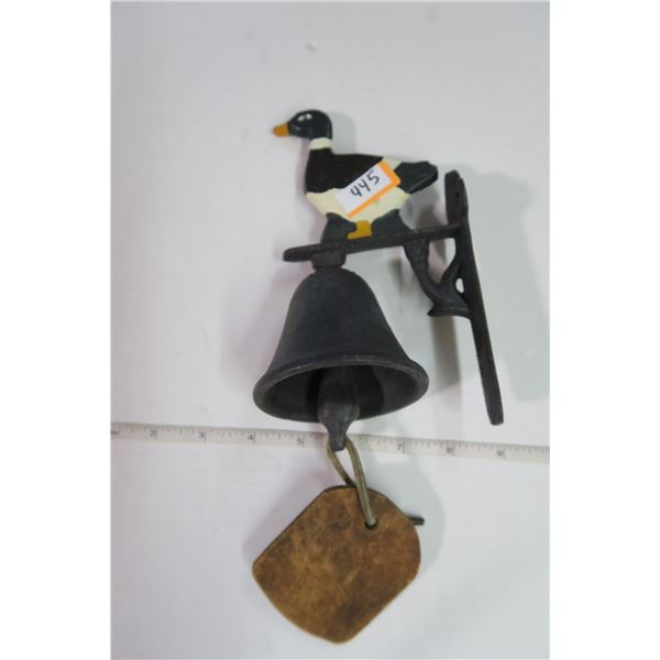 Cast Iron Duck Bell