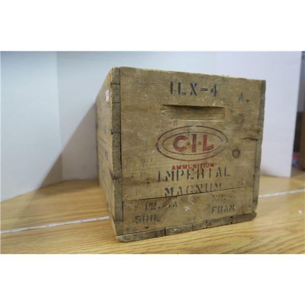 "CIL ""Loaded Shotgun Shell"" Box 1954"