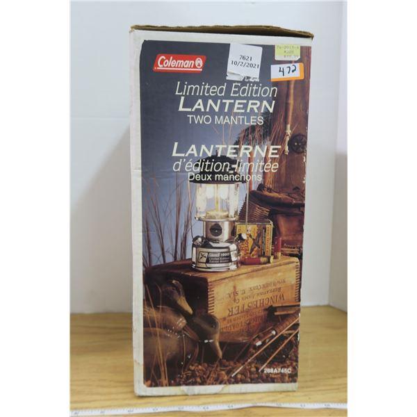 Brand New Coleman Limited Edition Lantern