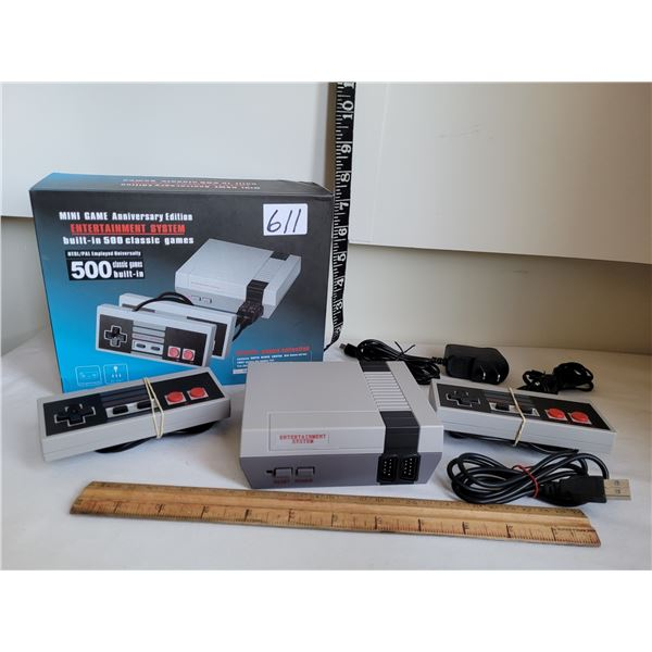 Anniversary Edition Nintendo system. 500 built in classic games.