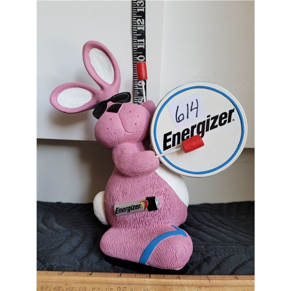 1990's Energizer Bunny coin bank.