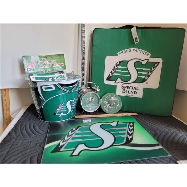 Group of roughrider products.