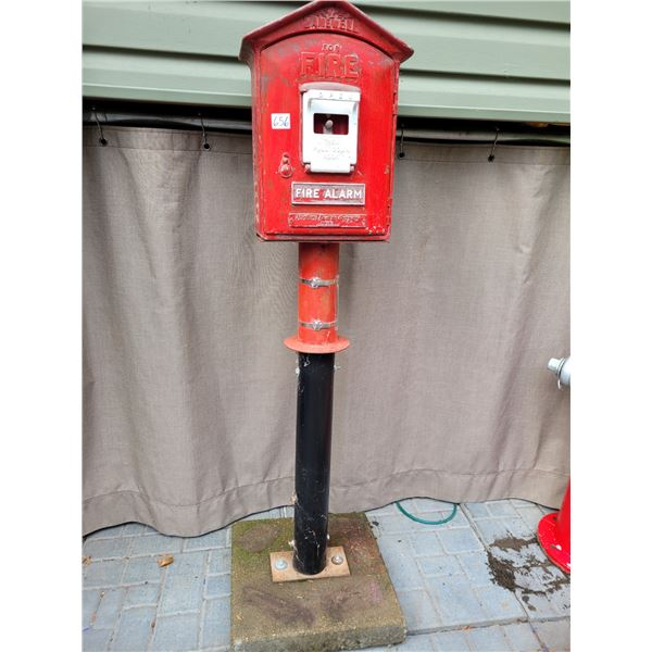Vintage Gamewell Fire Alarm. Northern Electric Co. Canada.