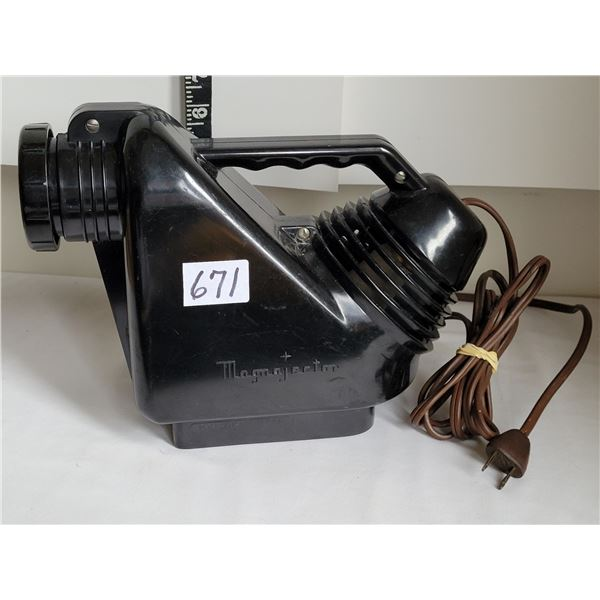 Mid century Magnajector picture enlarger.