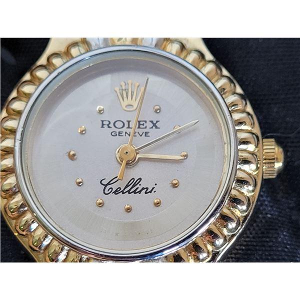 Very nice Rolex imitation Geneve Cellini watch.