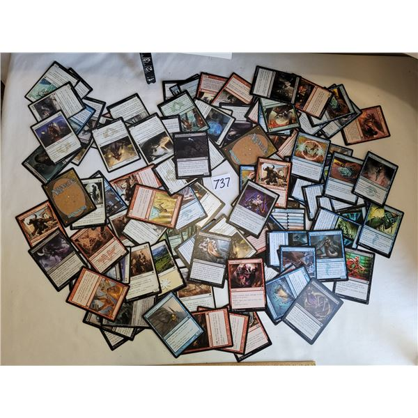 Lot of over 100 Deck master MAGIC cards unchecked.