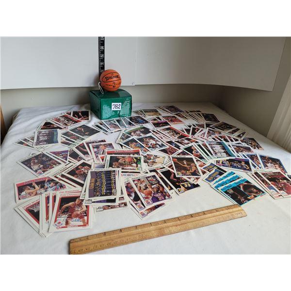 NBA Basketball collector cards & mini ball