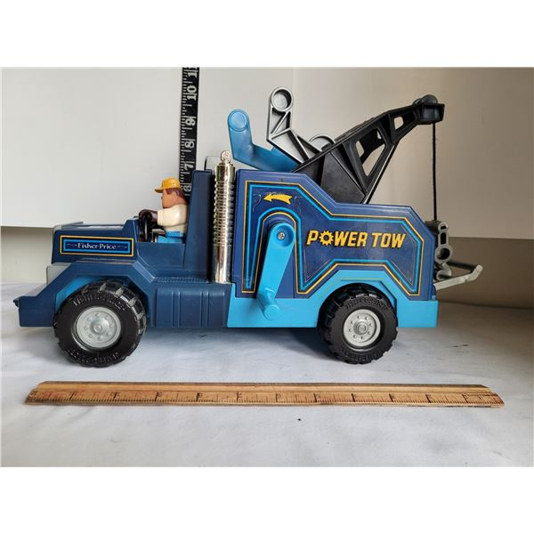1982 Fisher Price Power Tow truck. Excellent condition.