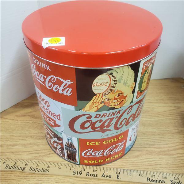 Large Coca Cola Coke Tin 11 inch