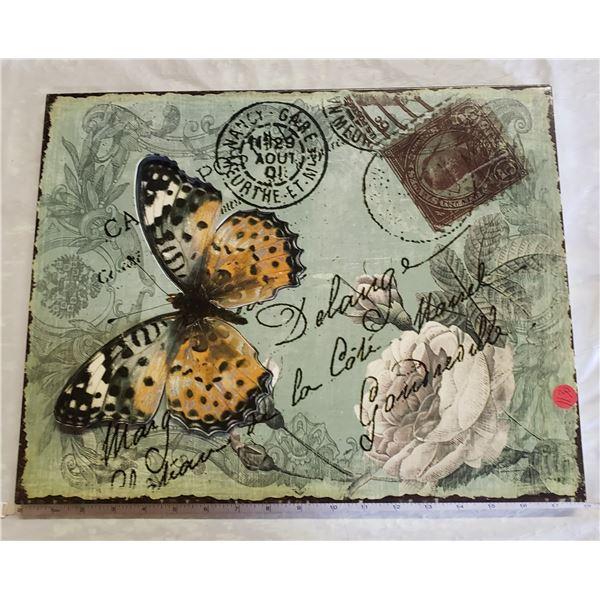 Metal butterfly wall art 3D art