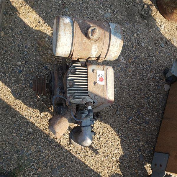 Vintage Wisconsin 4 H.P.  motor 2.875X2.75