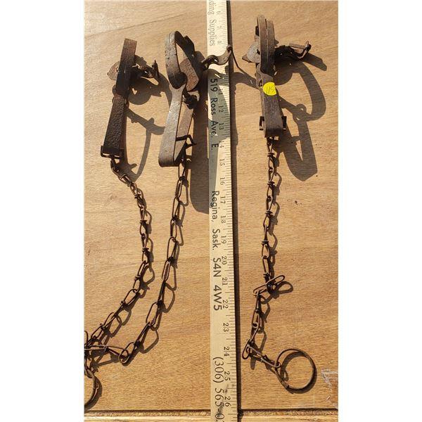 3 gopher traps