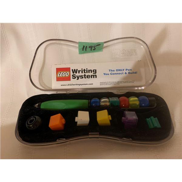 COLLECTIBLE LEGO PEN WITH UNIQUE LEGO PIECES