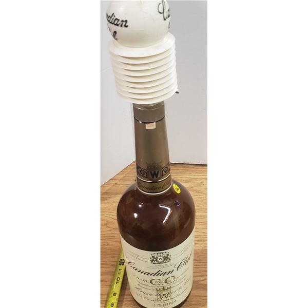 Canadian Club Whiskey Bottle