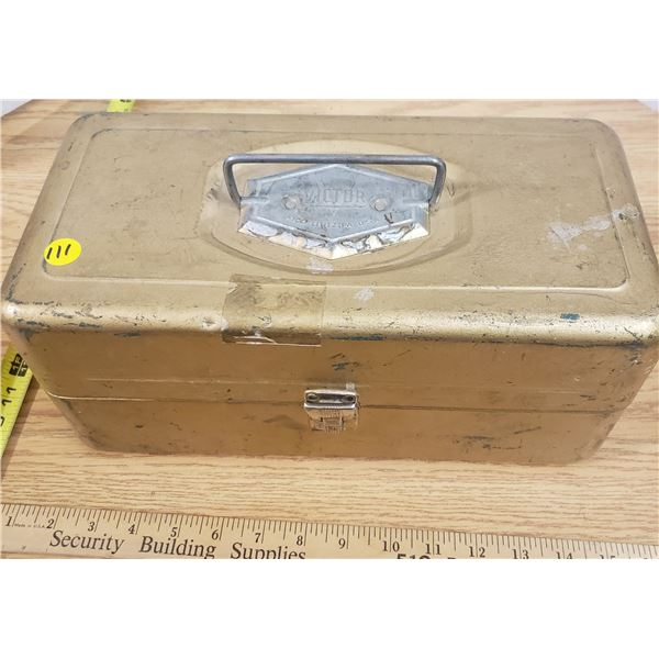 Vintage Tackle Box with Tackle