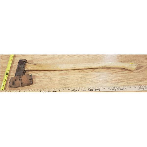 Wood Handled Axe