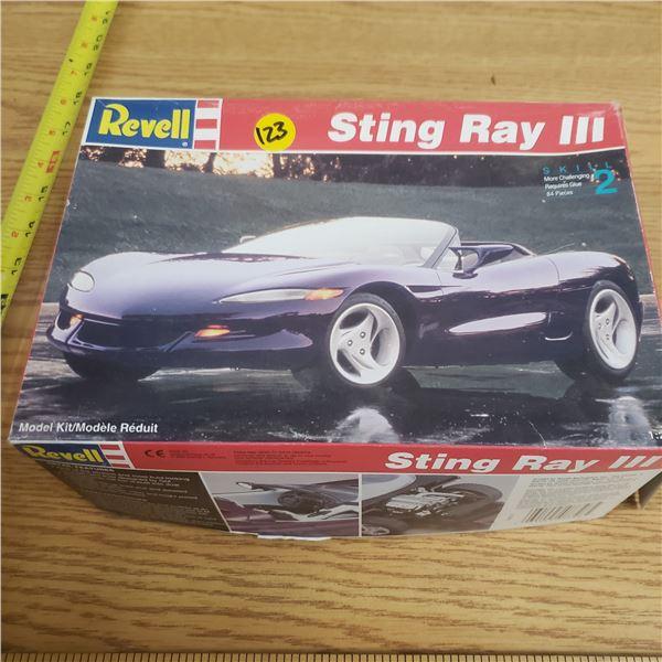Stingray III Model Kit (Complete)