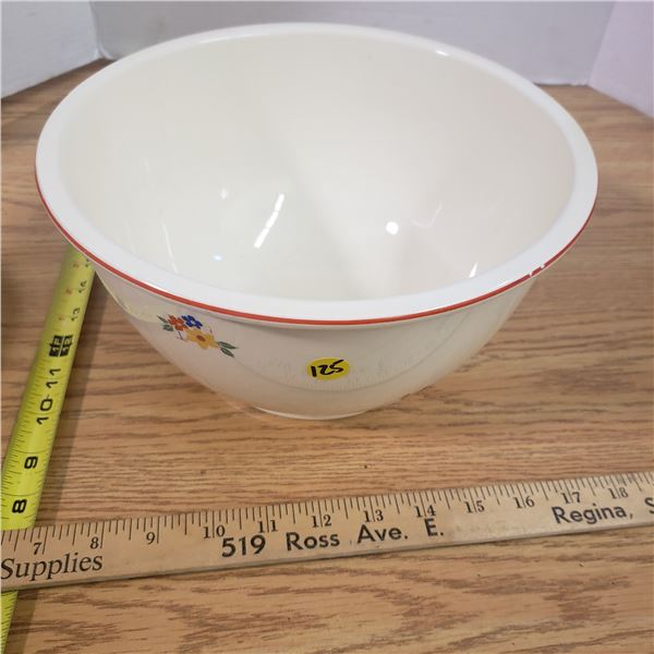 Large Kitchen Craft Pottery Mixing Bowl