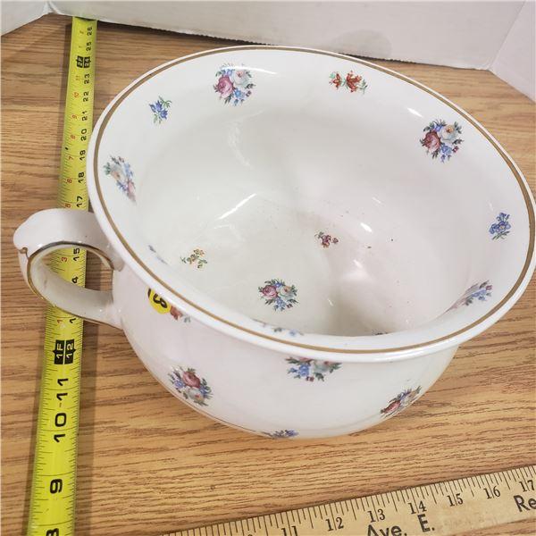 Large (England) Pottery Bowl
