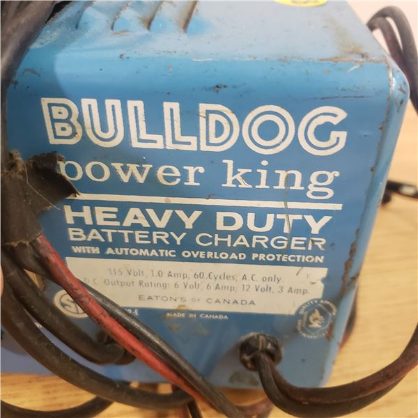Eaton's Bull Dog 6/12 Volt Charger