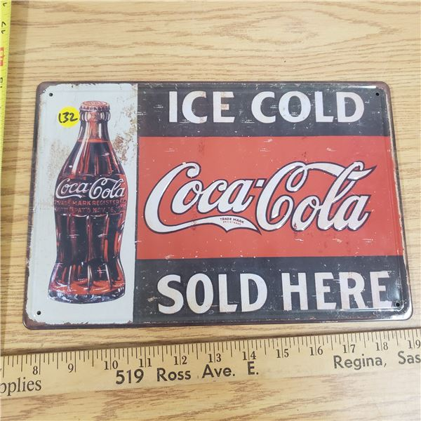 """Reproduction 12x8"""" Tin Signs"""