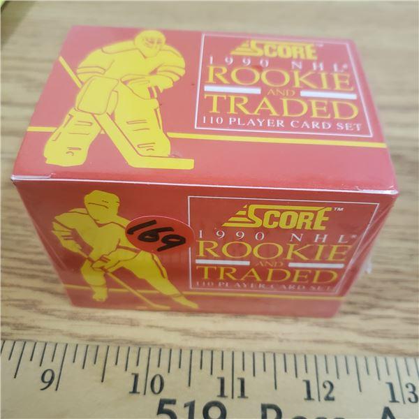 NIB sealed NHL hockey 1990 Rookie traded Card Set (110)