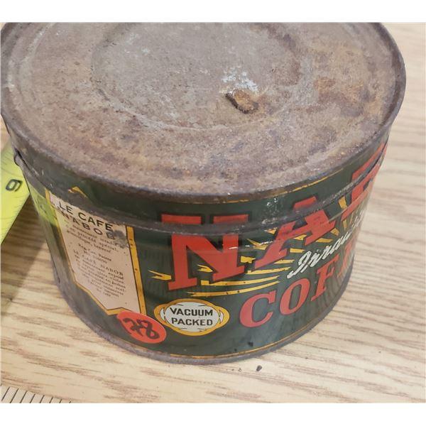 Nabob Coffee Tin