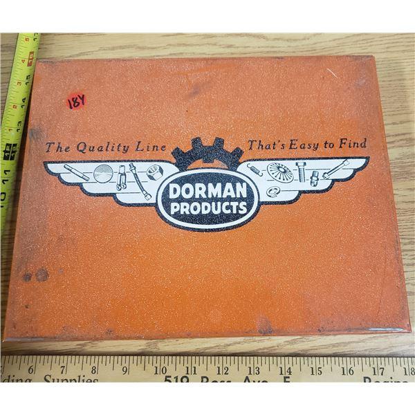 Vintage Dormans Brake Parts Display (with parts)