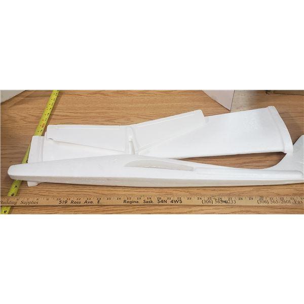 """Styrofoam Glider 30""""long x 40""""wide"""