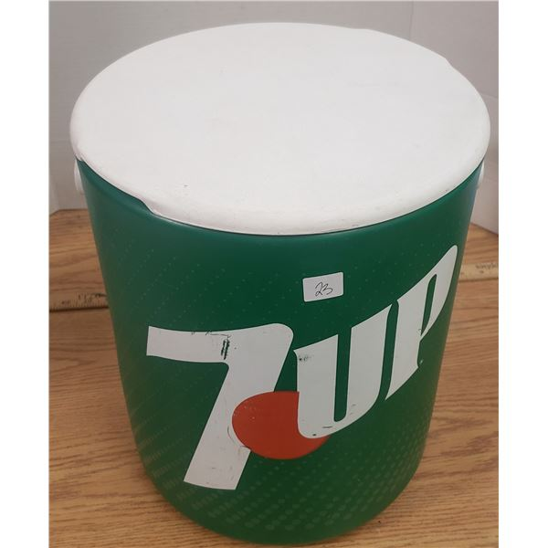 1960's 7-up cooler / stool promo