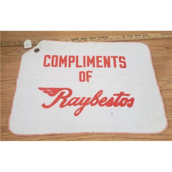 Raybestos Brake Promo Advertising towel